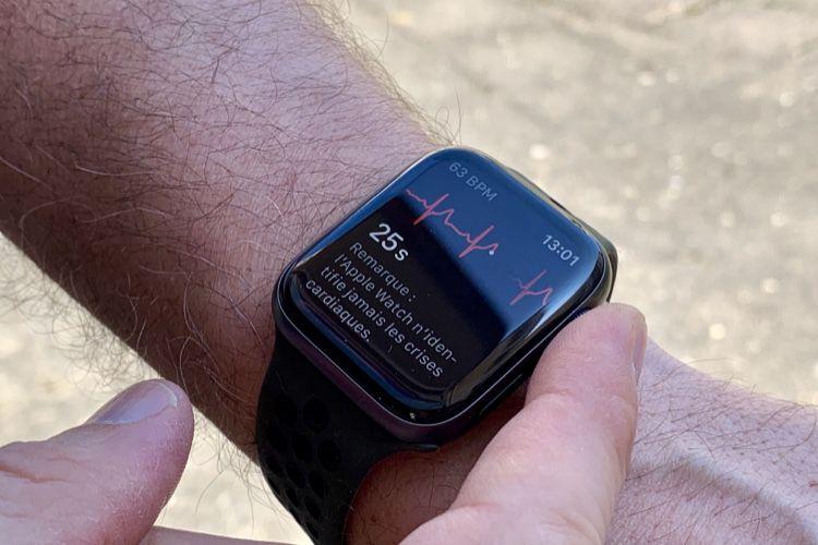 watchOS  5.2.1 active l'application ECG dans de nouveaux pays