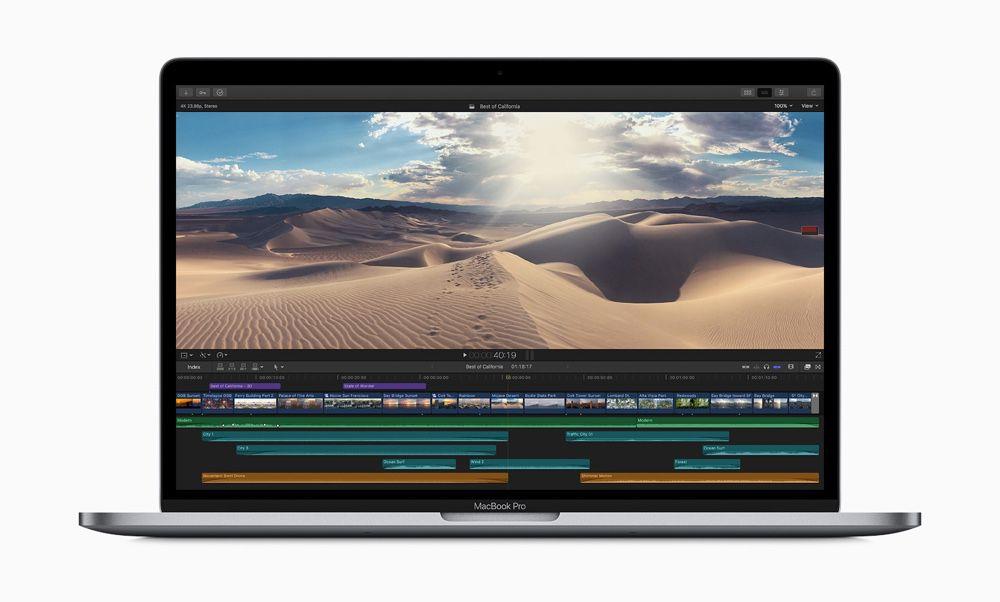 Apple lance des MacBook Pro plus rapides équipés d'un nouveau clavier