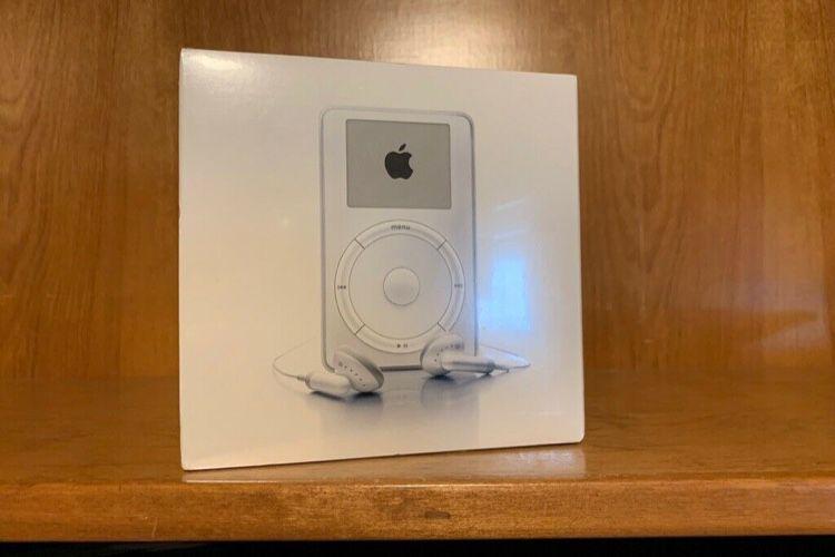 image en galerie : Cet iPod de 2001 jamais déballé ne va pas emballer votre portefeuille