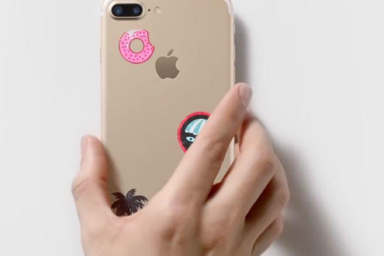 Une pub pour la reprise d'iPhone d'occasion en Apple Store