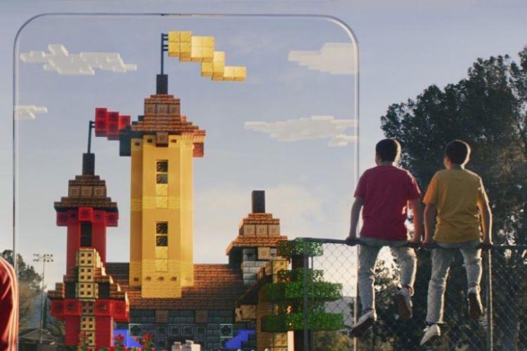 Minecraft Earth, un PokémonGO au cube