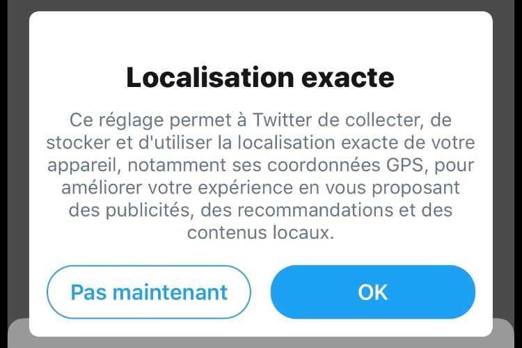 Fuite des données de localisation pour plusieurs utilisateurs chez Twitter