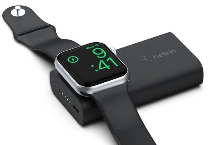 63 heures de jus pour l'Apple Watch avec la nouvelle batterie de Belkin