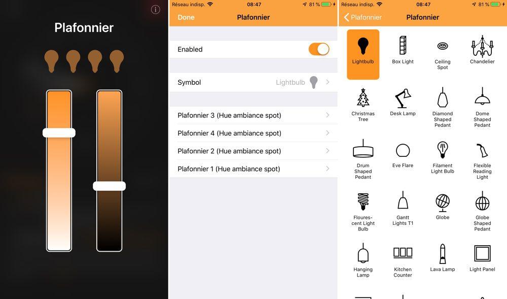 un ipad ou un iphone en tableau de bord homekit gr ce. Black Bedroom Furniture Sets. Home Design Ideas