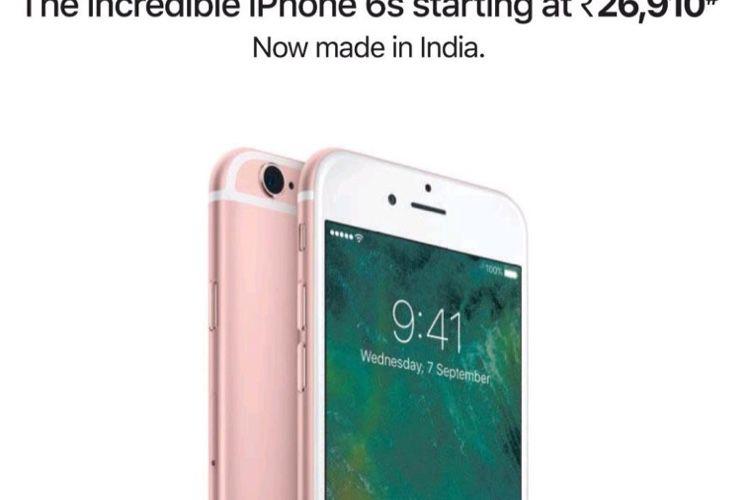 image en galerie : Inde : Apple fait la pub pour la fabrication locale de l'iPhone 6s