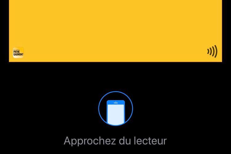 Apple Pay: billet NFC avec Pathé Gaumont et discussions avec la RATP