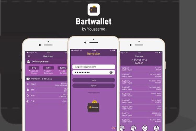 Bartwallet, une application de cryptomonnaie pas comme les autres  📣
