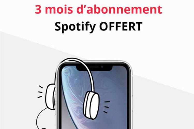 Obtenez gratuitement un abonnement à Spotify en achetant votre smartphone 📱  📣