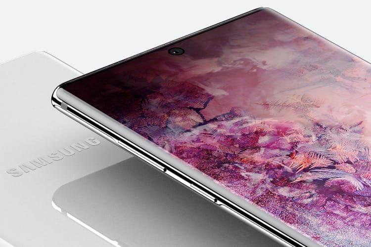 Le Galaxy Note10 montrerait le bout de son stylet début août
