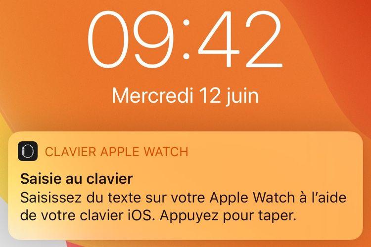 watchOS6 peut utiliser un iPhone pour saisir un mot de passe