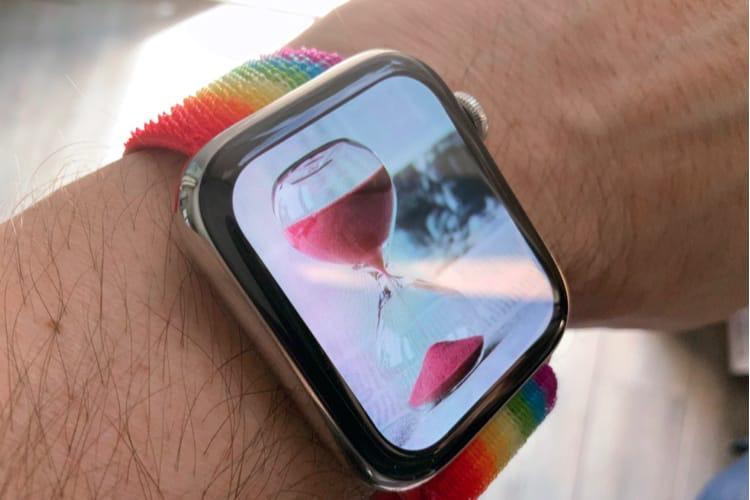 Avec watchOS 6, l'Apple Watch s'ajoute à Temps d'écran