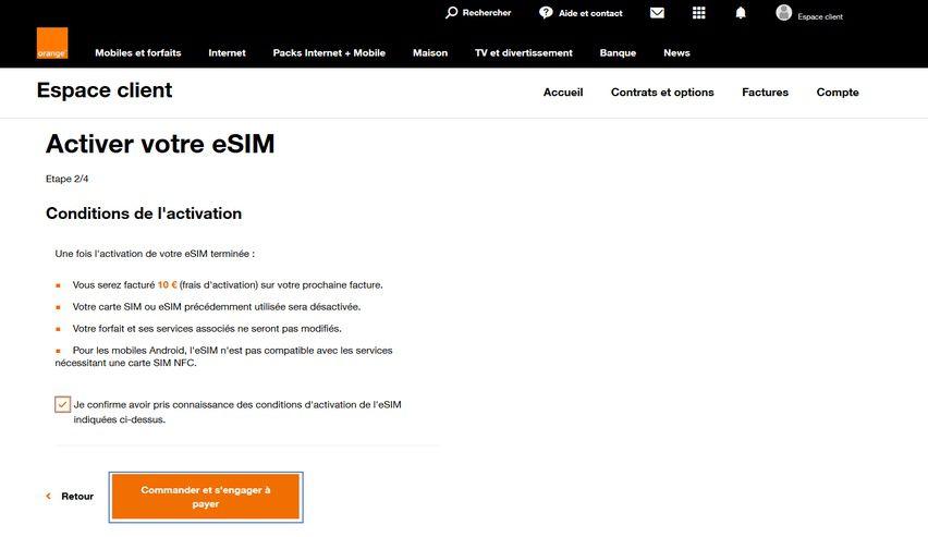 sosh commander carte sim Orange et Sosh compatibles avec l'eSIM des iPhone XS et XR [màj