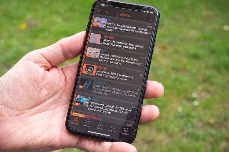 iGeneration 5.6 pour iOS: mode nuit accessible à tous et présentation magazine
