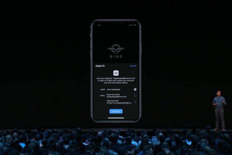 Sign in with Apple : Apple devient fournisseur d'identité privée