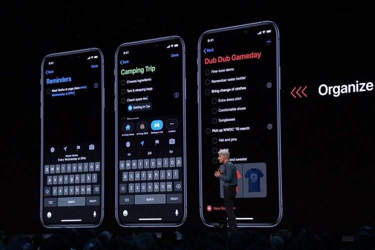 WWDC 2019 : du neuf dans Safari, Notes, Mail et Rappels