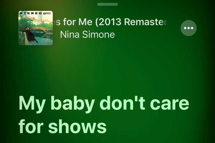 Dans iOS 13, l'app Musique connait la chanson