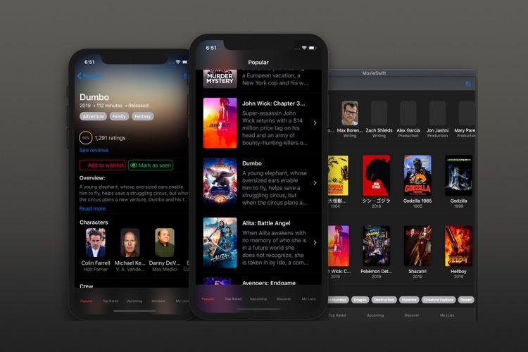 MovieSwiftUI, une app complète pour découvrir SwiftUI