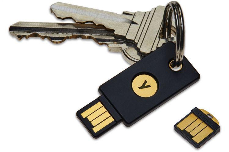 Sécurité: 1Password prend en charge les clésU2F/WebAuthn