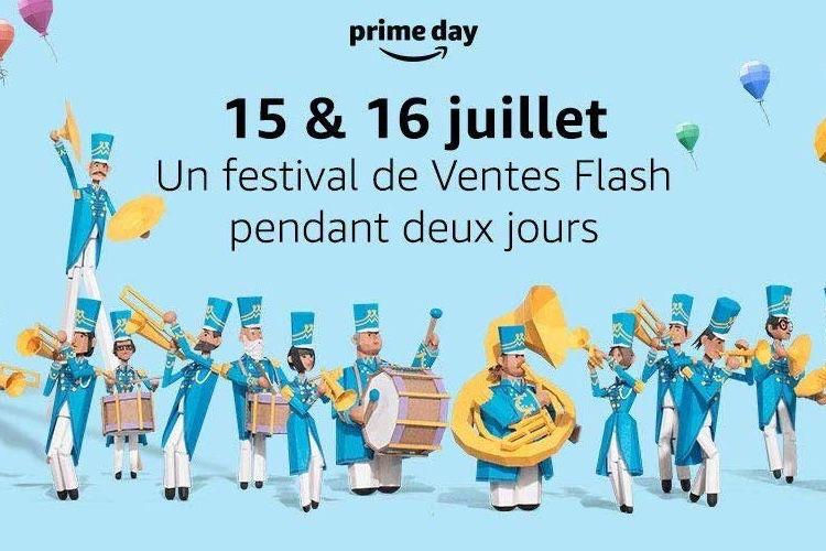 L'Amazon Prime Day les 15 et 16 juillet