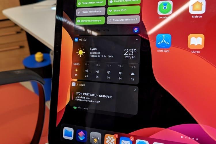 iPadOS13 n'a toujours pas d'apps Météo ou Calculette 😡