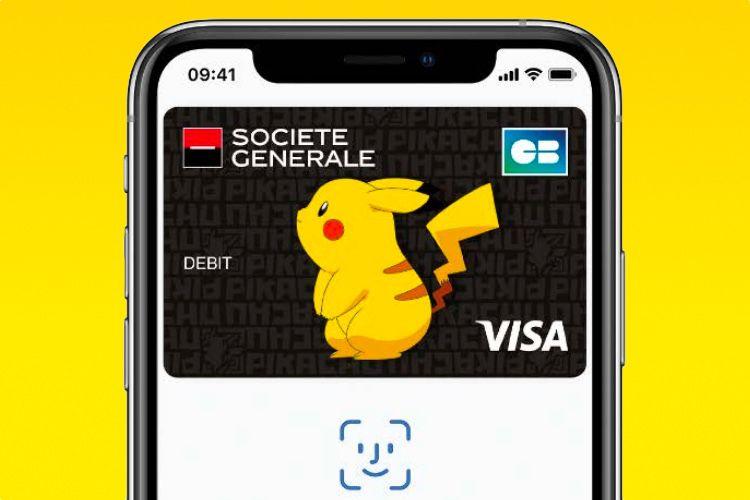 Société Générale: les cartes personnalisées vont s'afficher à l'identique dans Apple Pay