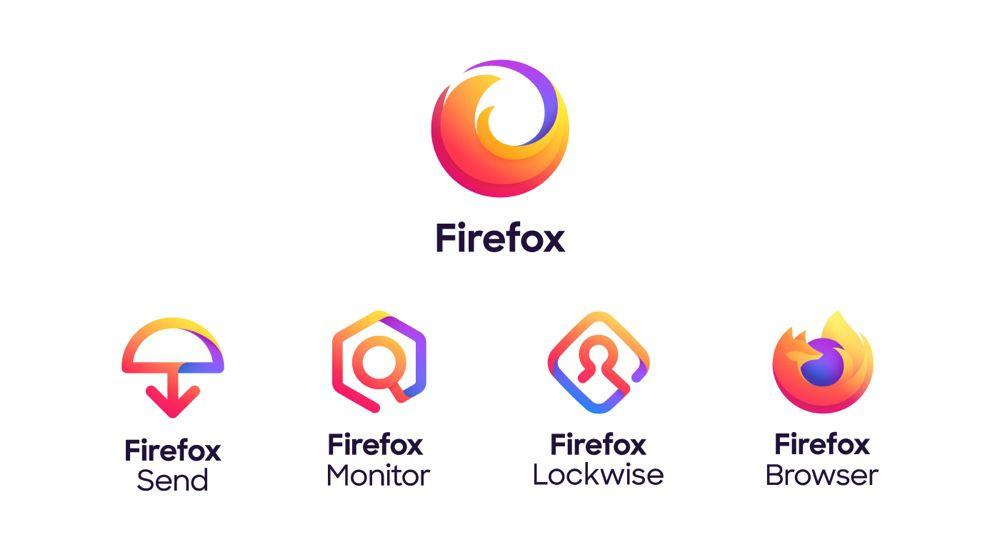 Voici les nouveaux logos de Firefox