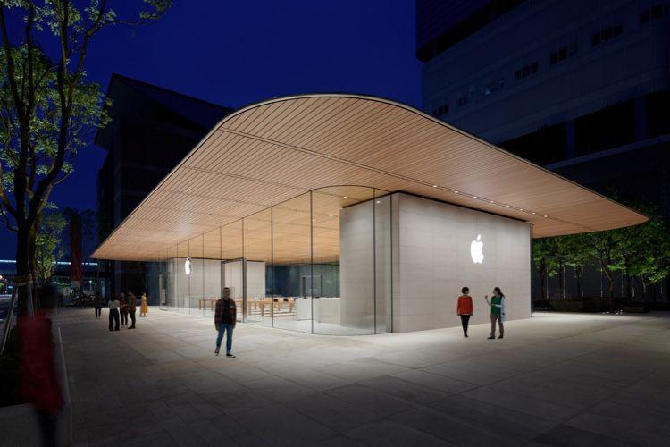 Apple présente Xinyi A13, sa nouvelle boutique taïwanaise