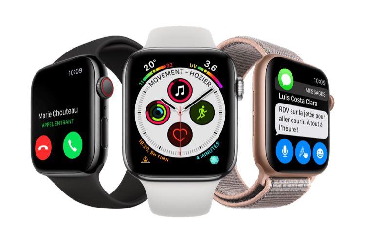 SFR rembourse 30 € sur des Apple Watch Series 4 avec forfait4G