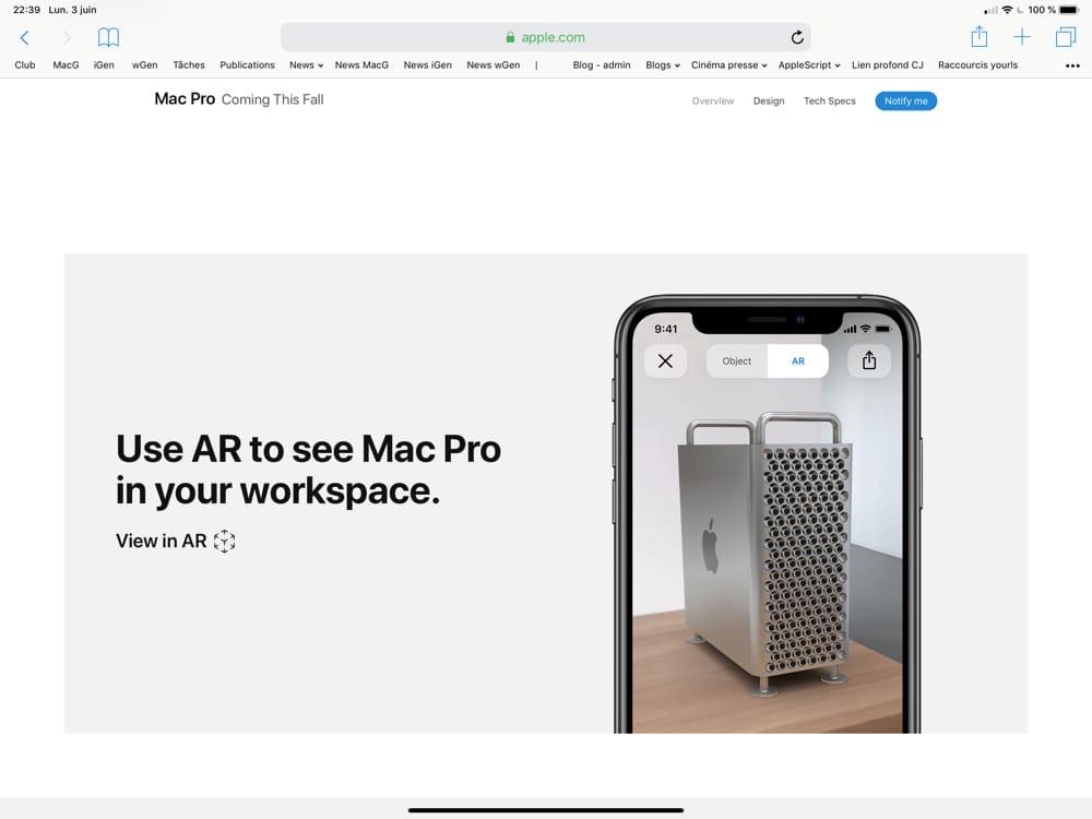 Apple dévoile son Mac Pro, un monstre de puissance