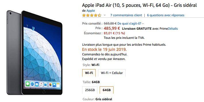 """Des Mac mini 2018 à 759 €, iMac 4K à 1 229 € et iPad Air 10,5"""" à 486 €"""