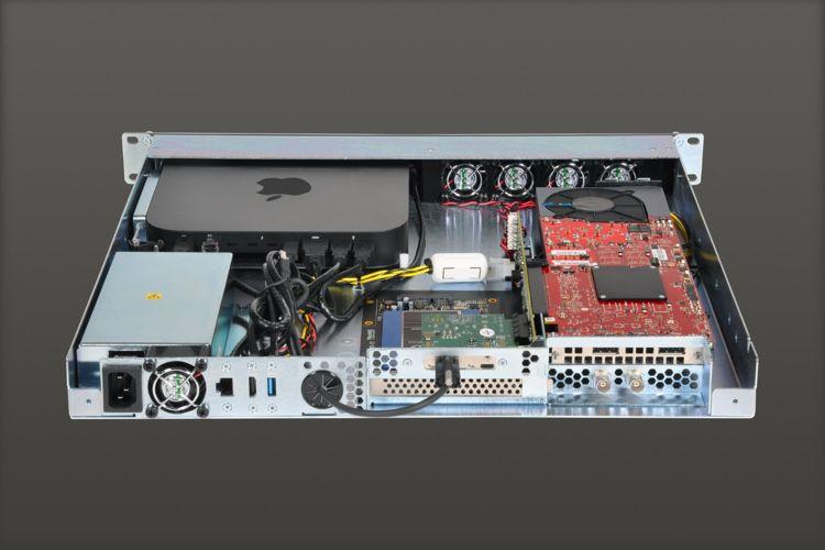 Sonnet met à jour son rack pour Mac mini avec du Thunderbolt3