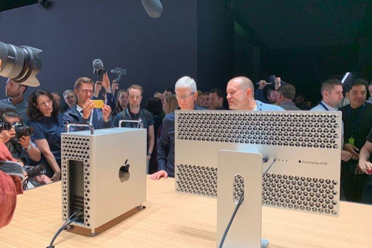 Le Mac Pro et son écran en photos et vidéos après le keynote