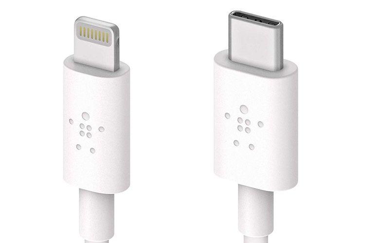 Le câble USB-C vers Lightning de Belkin voit son prix baisser