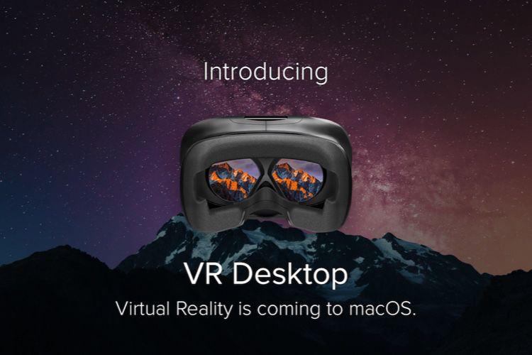 VR Desktop abandonné sur Mac parce que SteamVR le serait aussi