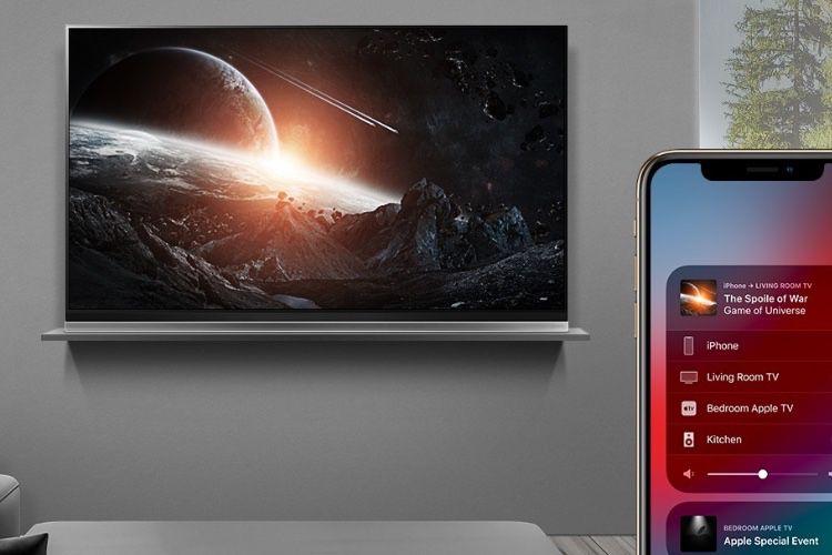 AirPlay 2 et HomeKit en cours de déploiement chez LG et Vizio