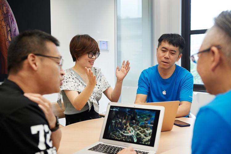 Après l'Inde, Apple ouvre un centre pour développeurs en Chine