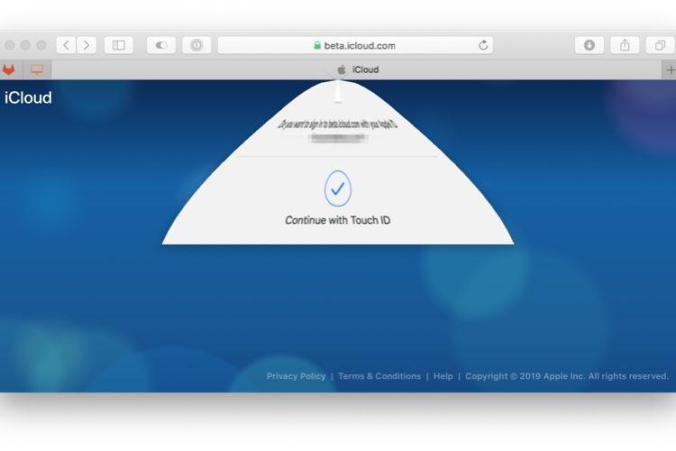 Apple teste Face ID et Touch ID pour s'identifier sur ses sites