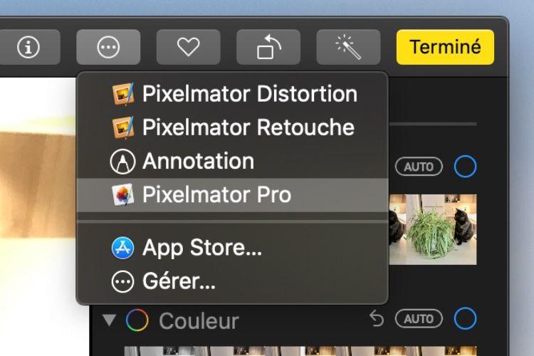 Tout Pixelmator Pro s'intègre à Photos grâce à une nouvelle extension