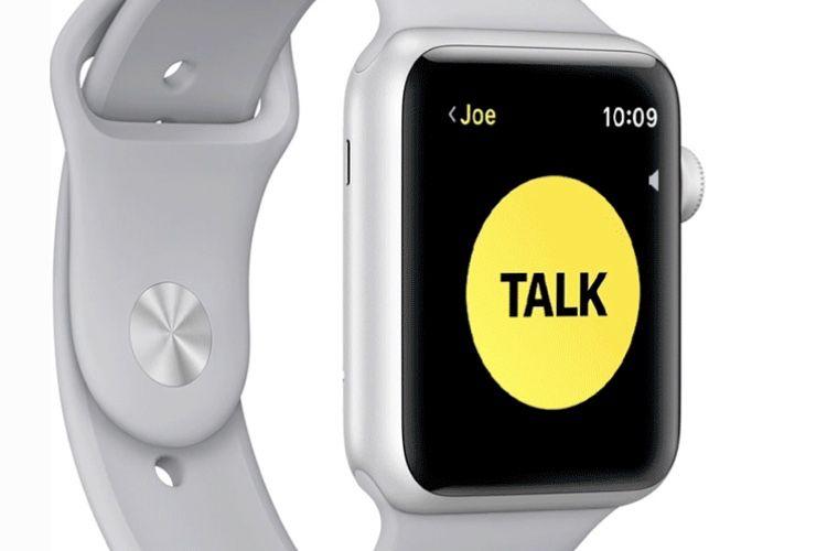 Apple coupe Talkie-walkie sur les AppleWatch après une faille de sécurité