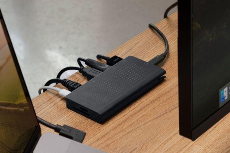 StayGo, un hub USB-C avec câble amovible