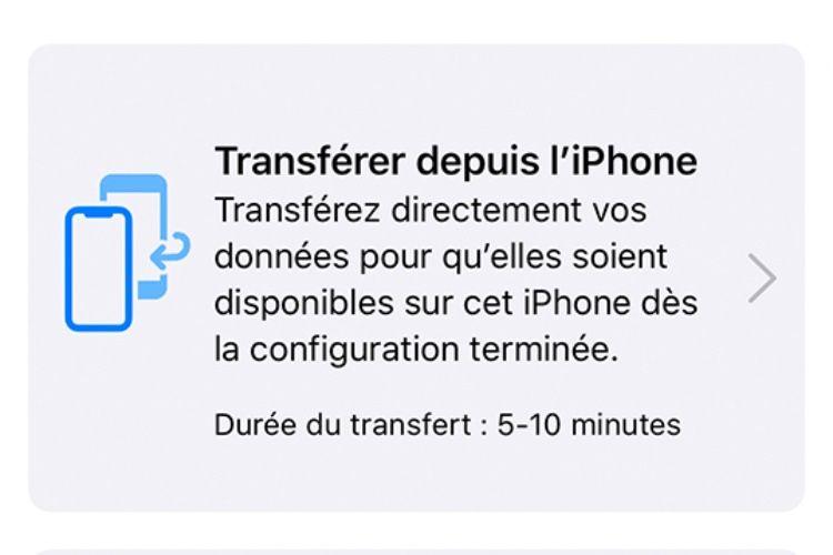 iOS12.4 : Apple détaille la nouvelle fonction de migration des données