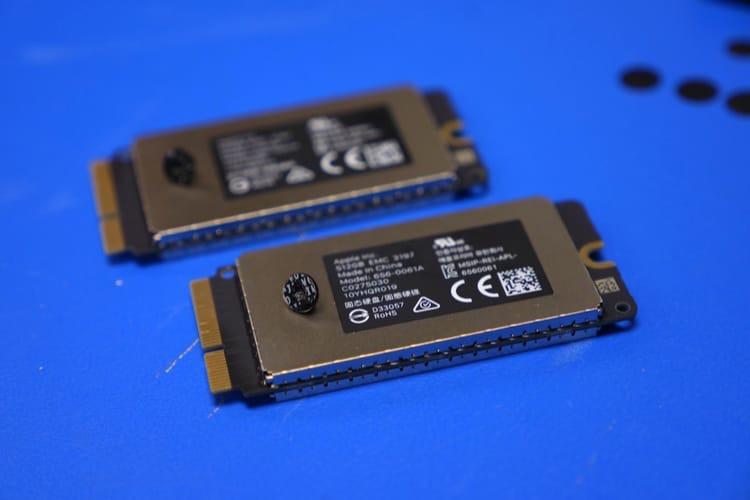 Apple baisse les prix des SSD en option pour tous les Mac