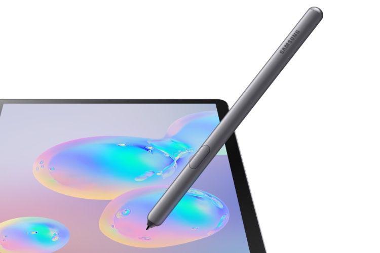 Galaxy Tab S6 : une tablette avec un stylet et un capteur d'empreintes sous l'écran