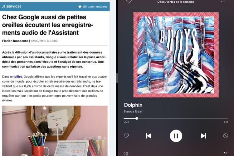 Spotify partage enfin son interface sur les iPad