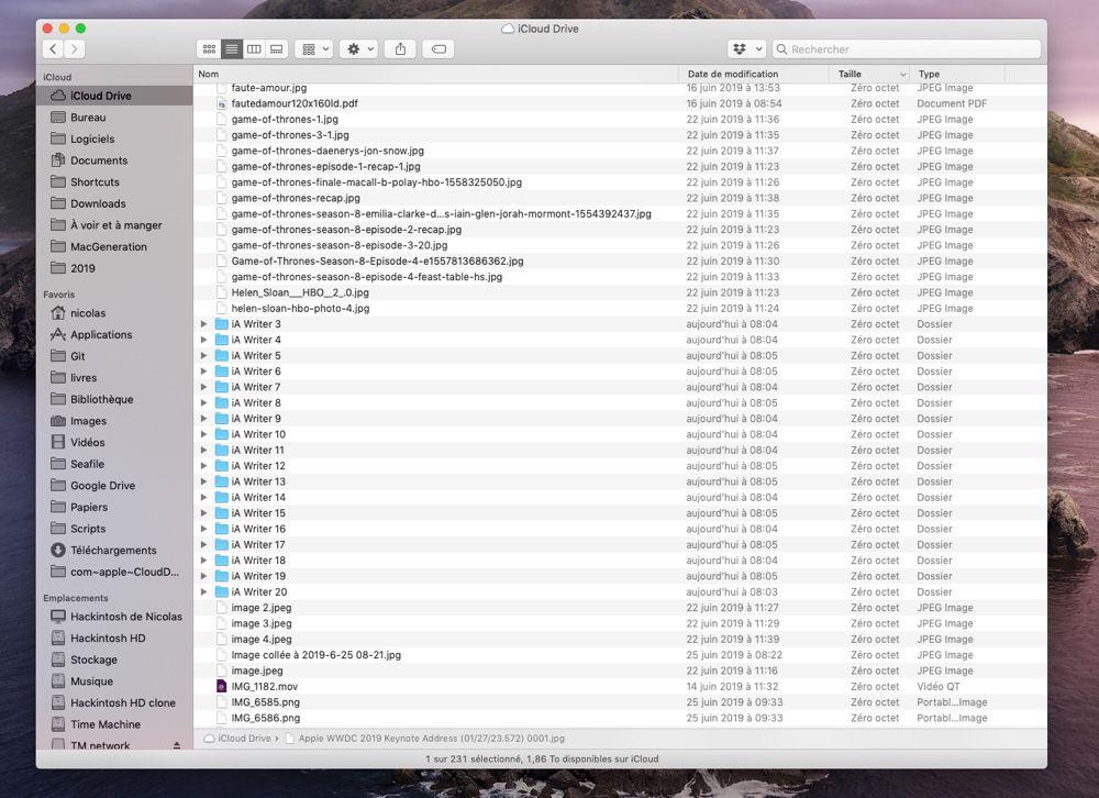 Attention, iCloud est fragile dans les bêtas d'iOS 13 et macOS