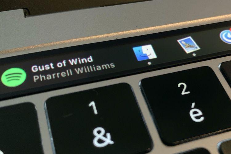 Pock installe des widgets avec le Dock dans la TouchBar