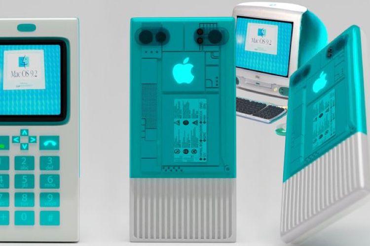 video en galerie : Et si l'iPhone avait été lancé en 1984ou en 1997?