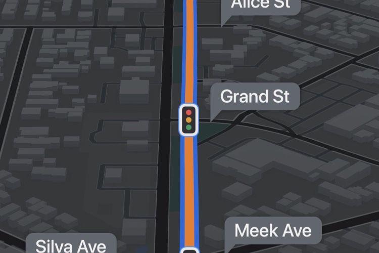 Plans affiche les  panneaux Stop et feux de circulation en Californie
