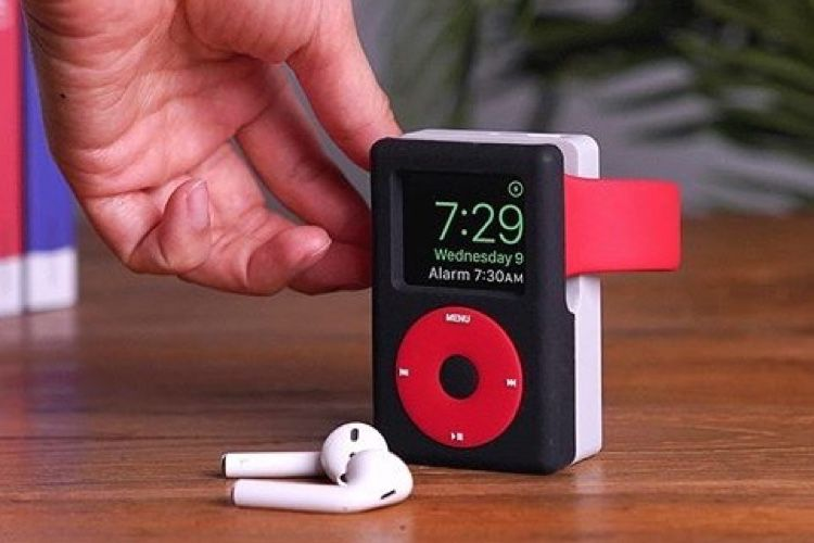 Elago lance un dock d'Apple Watch en forme d'iPod