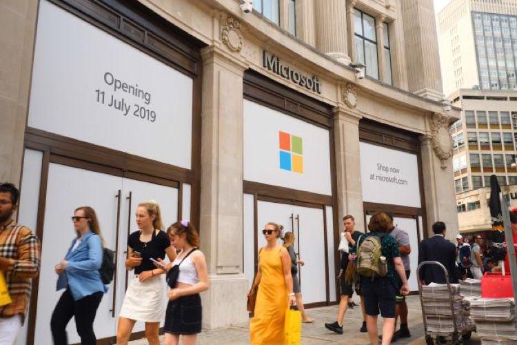 Microsoft ouvre son premier Store en Europe